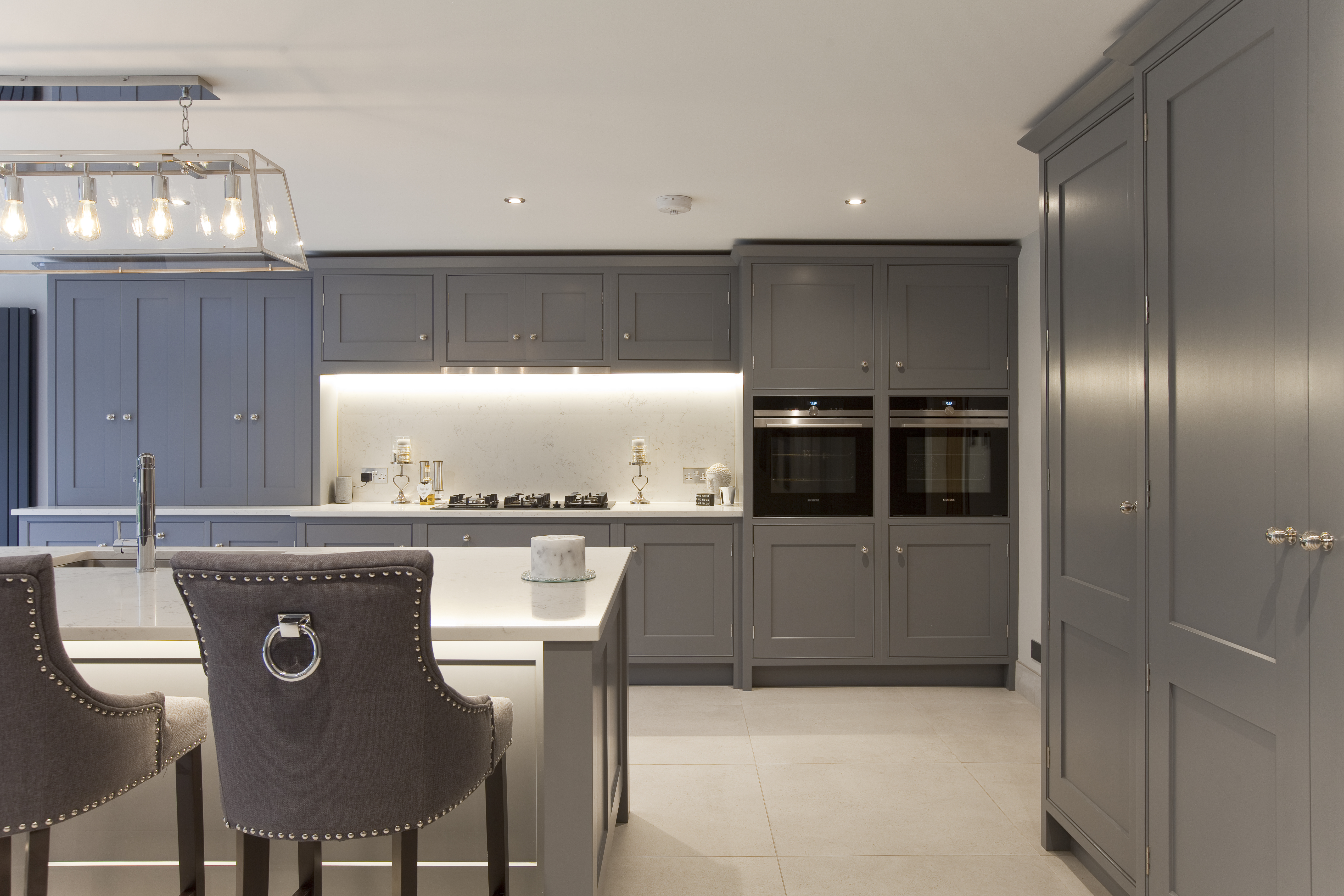 Bespoke Shaker Grey Kitchen