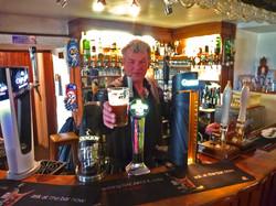Pint in Wild Boar Inn Wincle