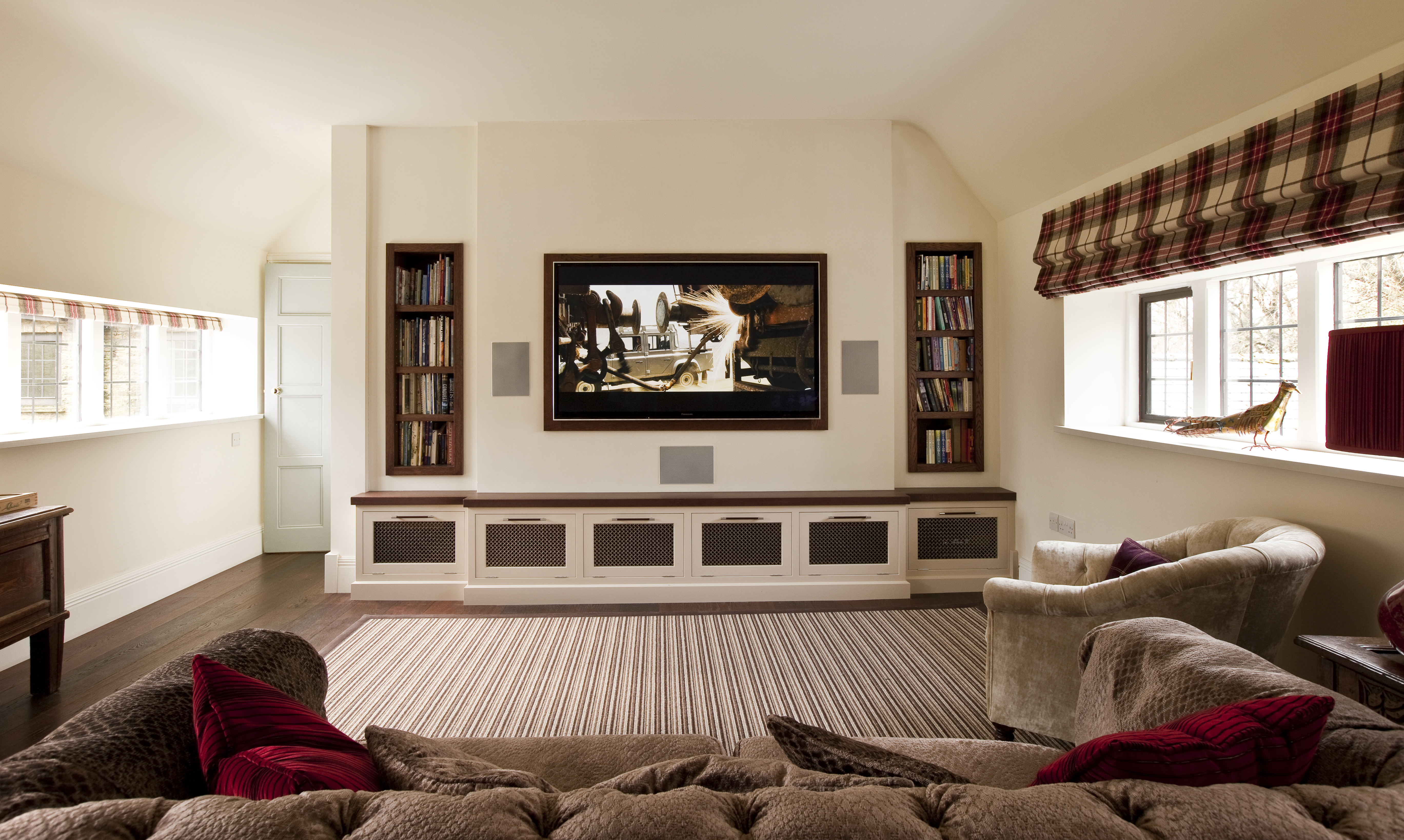 Bespoke Media Room Furniture