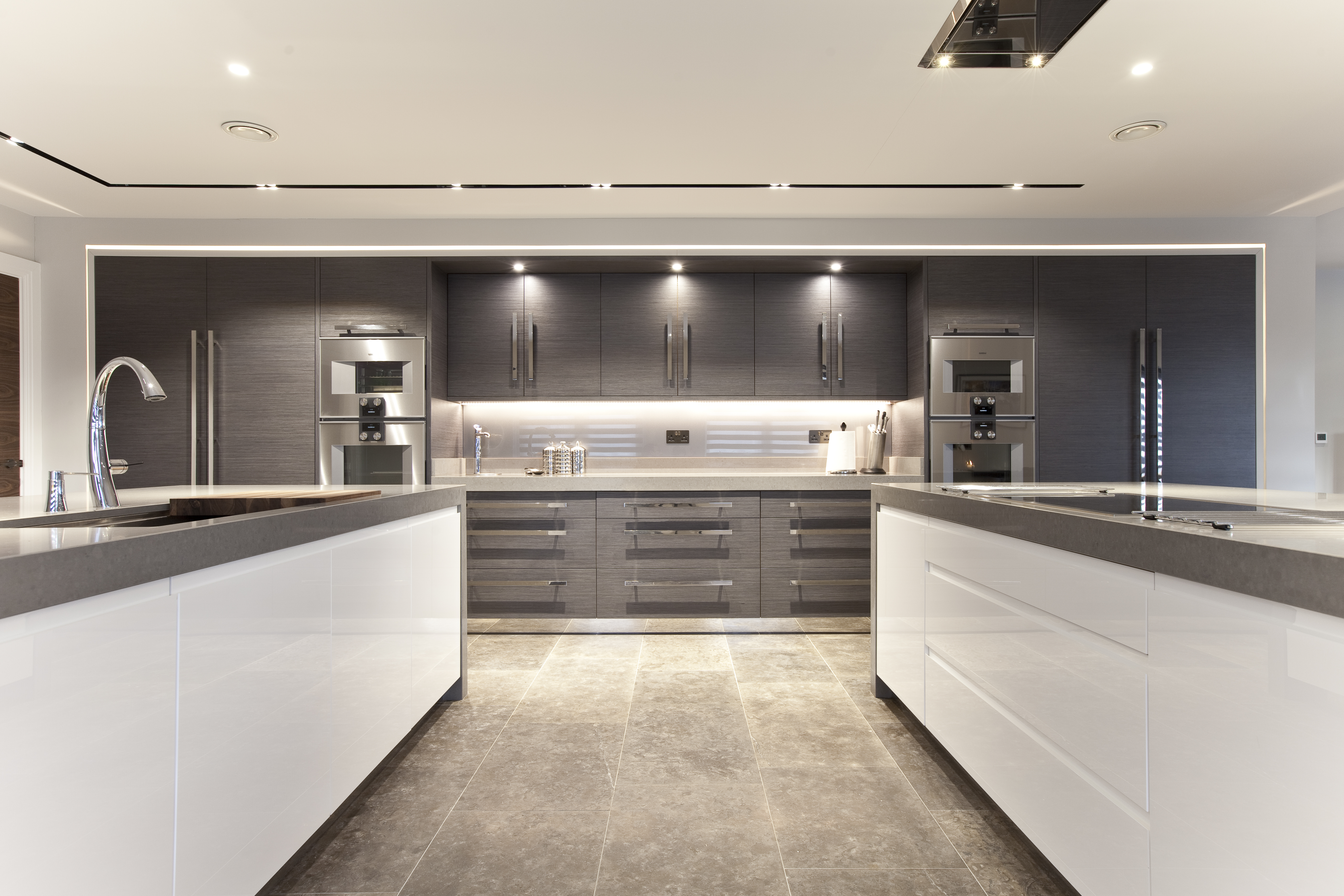 Contemporary Grey and White