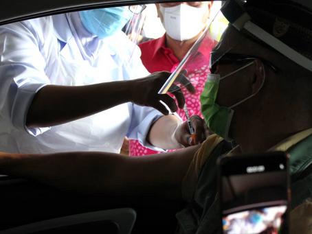 【醫療】霹靂州大臣:得來速接種疫苗只供第2劑接種者
