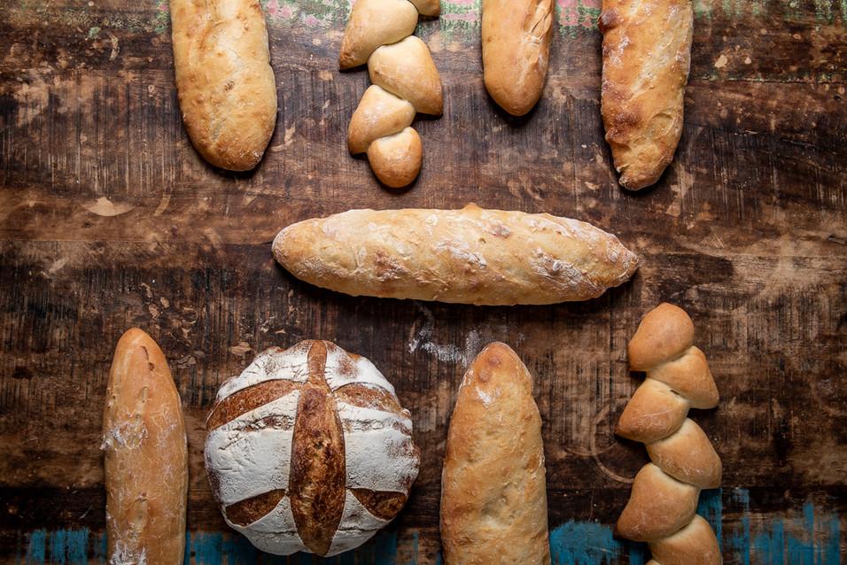 Fotografia para el nuevo emprendimiento de un Piloto ... incursionando en la produccion de la masamadre para sus maravilloso panes