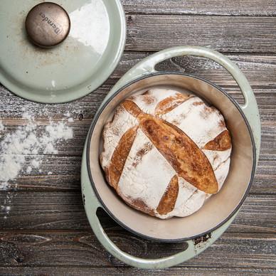 pan hecho en casa... fotografia para Il panettiere Volante