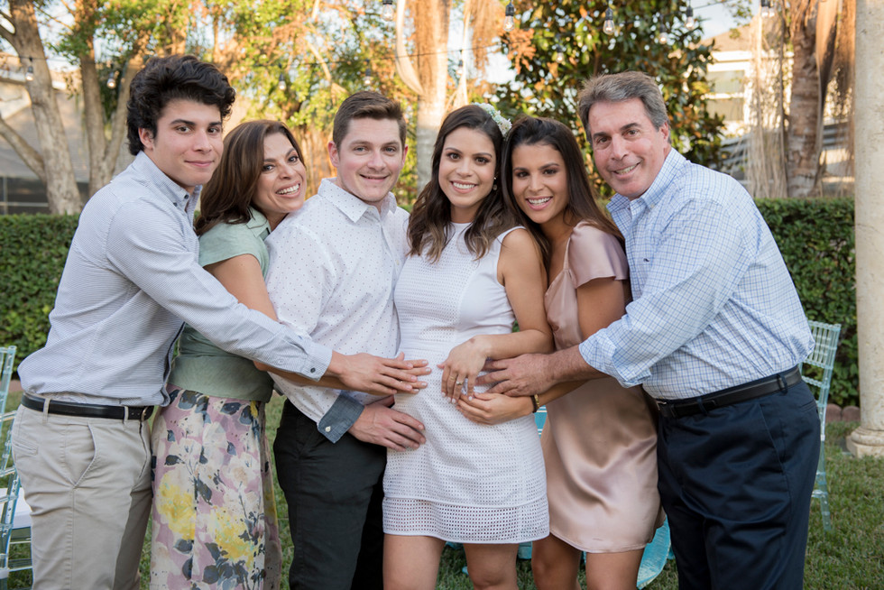 All family waiting Matteo !!!