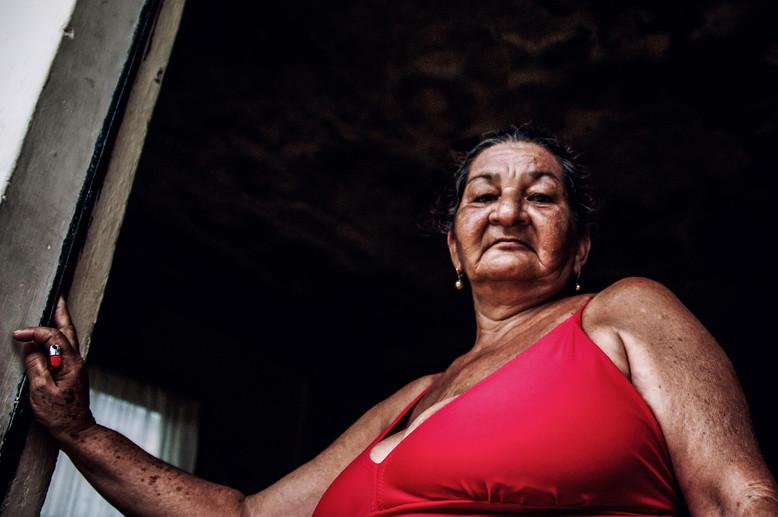 Mujer Venezolana de un pueblo de pescadores ubicado en la zona de Todasana.