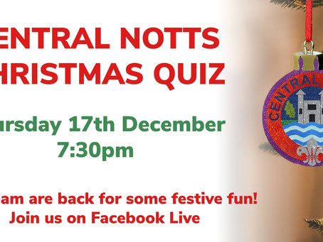 Central Notts Online Christmas Quiz!