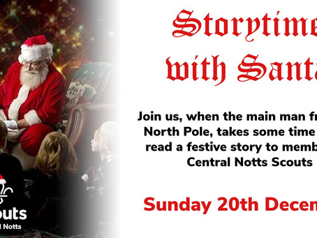 Central Notts Storytime with Santa