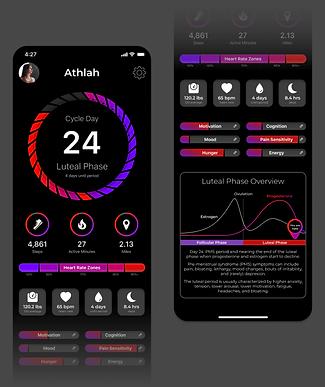 Athlah iPhone Product Interface UI UX