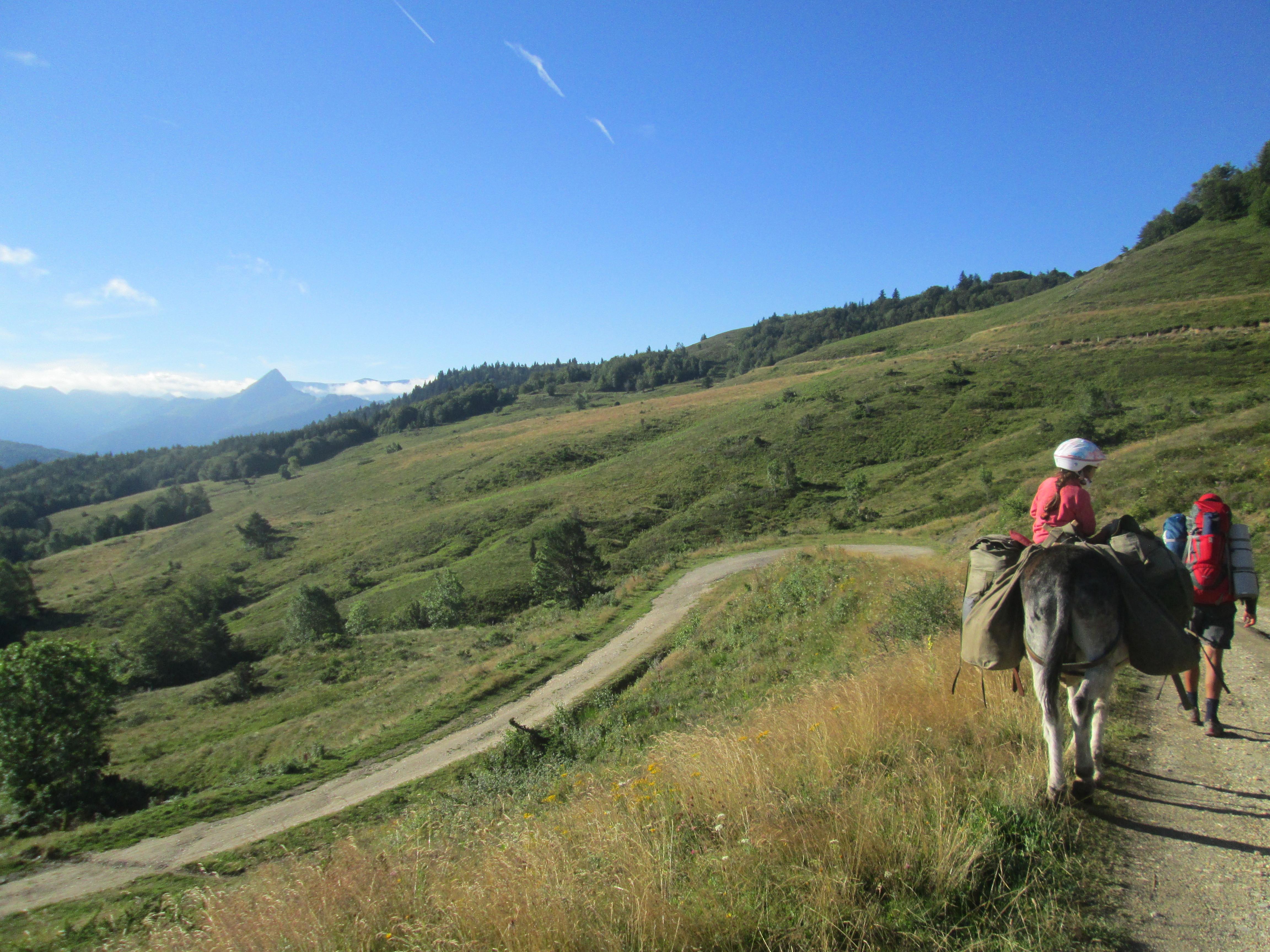 Séjour rando ânes et grimpe