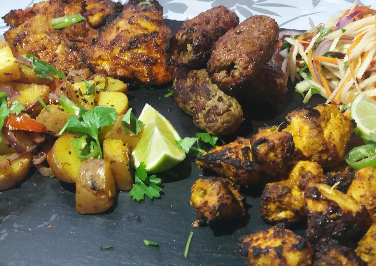 Indian BBQ.