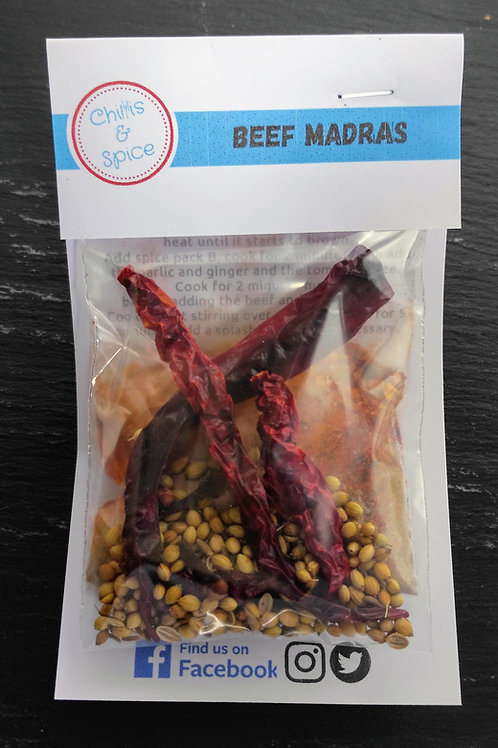 Madras spice kit