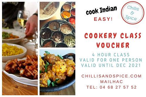 cookery class voucher