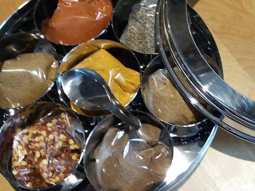 Masala Dabba - Indian spice tin