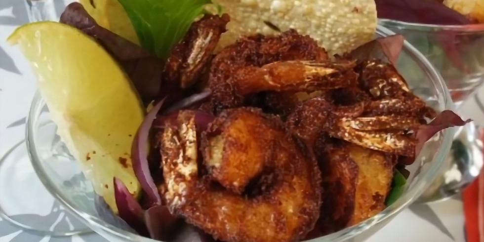 Cook an Indian dinner for fish lovers FULL