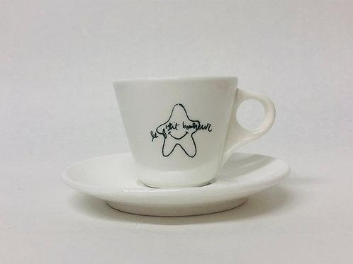 Hallie McNeill: Le p'tit bonheur espresso cups