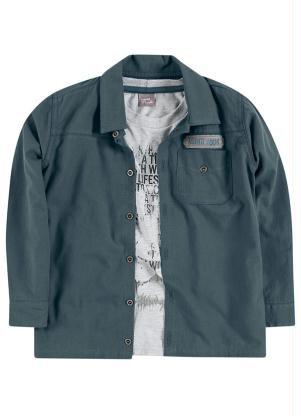 Conjunto de Camisa - camiseta e calça - Mundi
