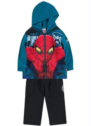 Conjunto de Jaqueta e calça Spidermen - Brandili