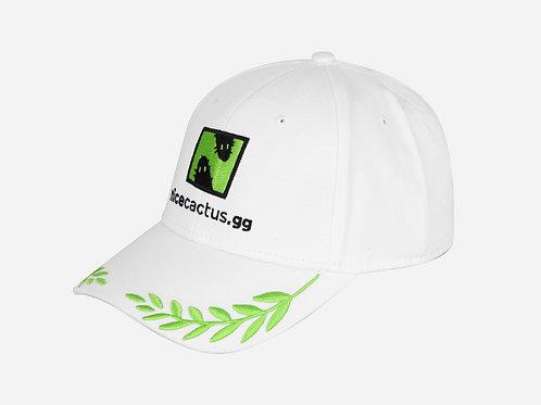 WHITE ICONIC CAP