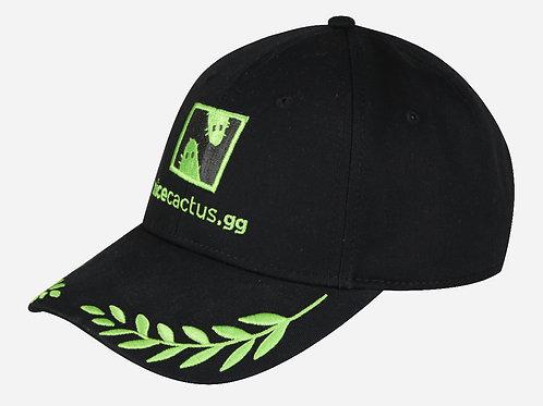 BLACK ICONIC CAP