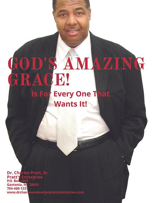 PDF Book - God's Amazing Grace-by Dr. Charles Pratt