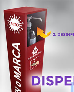 dispensador de gel