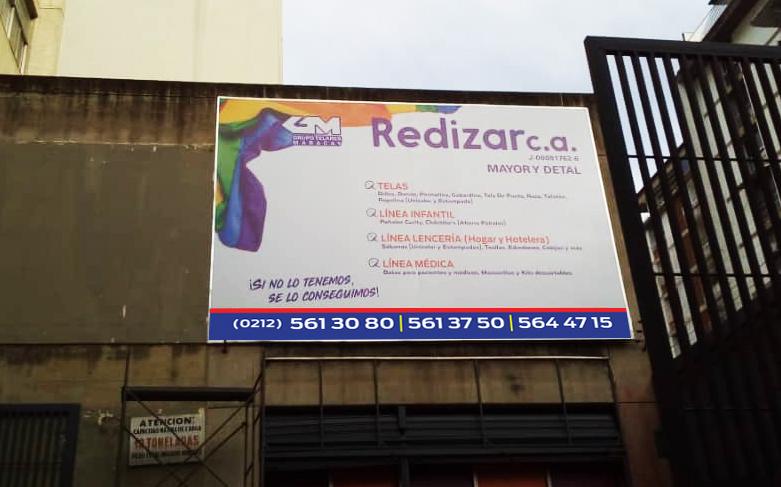 VALLA Redizar. Grupo Telares Maracay