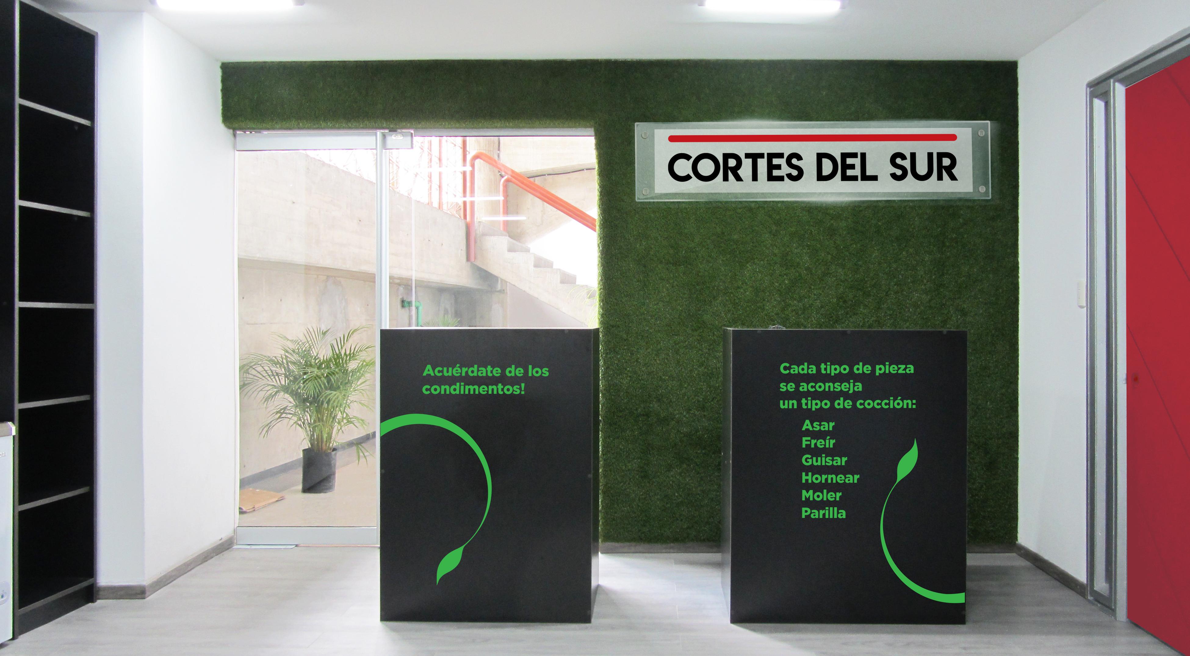 AREA de CAJA. Tienda Cortes del Sur