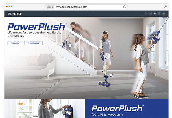 Eureka PowerPlush