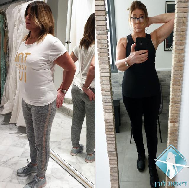 דיאטת לורן - סילבינה גוטליב ירדה 6 קילו