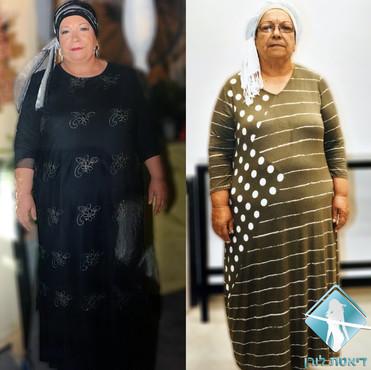 דיאטת לורן - מרים ביטון ירדה 12 קילו תוך