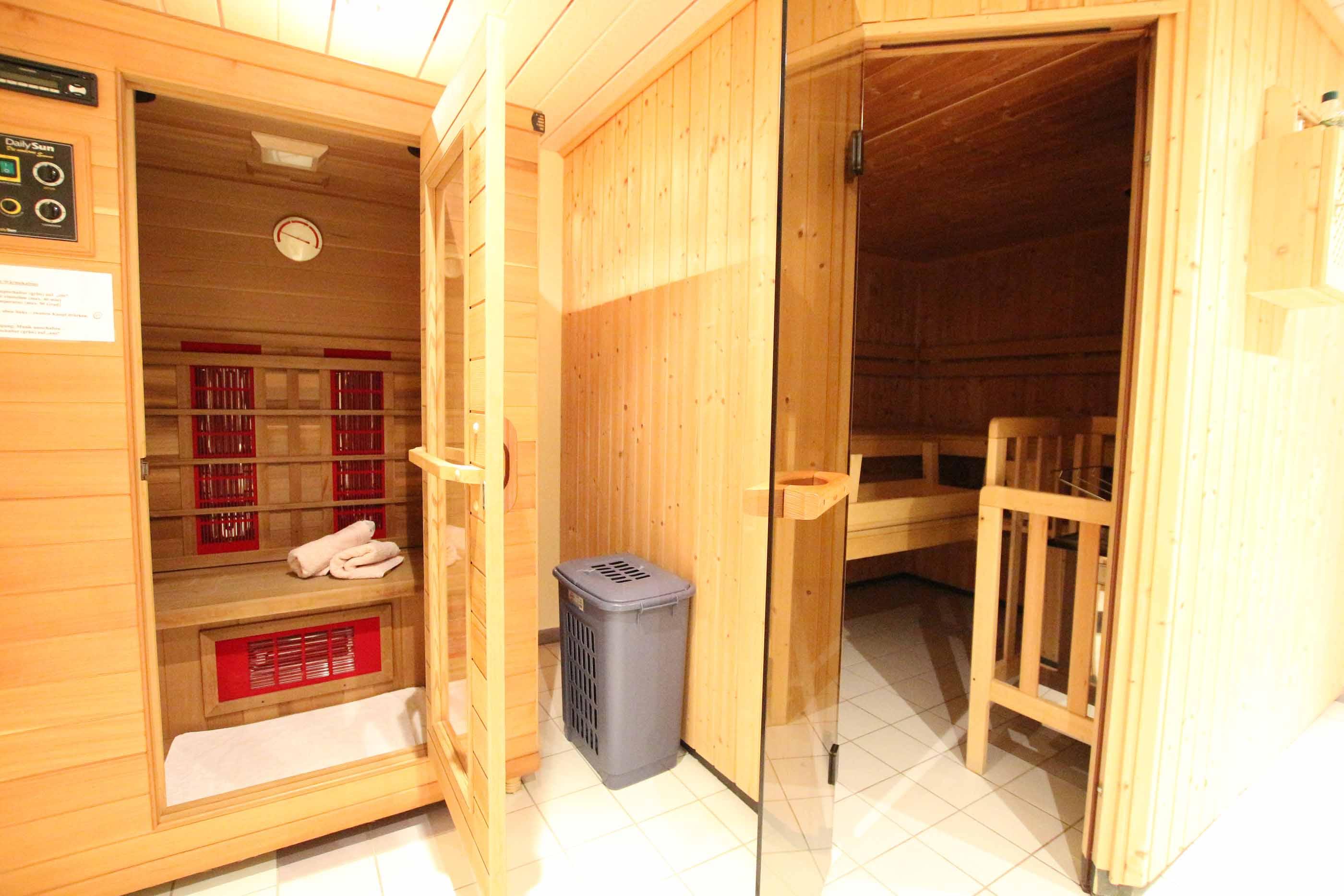 Sauna & Infrarotkabine
