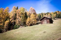 Wanderung Richtung Frudiger Herbst