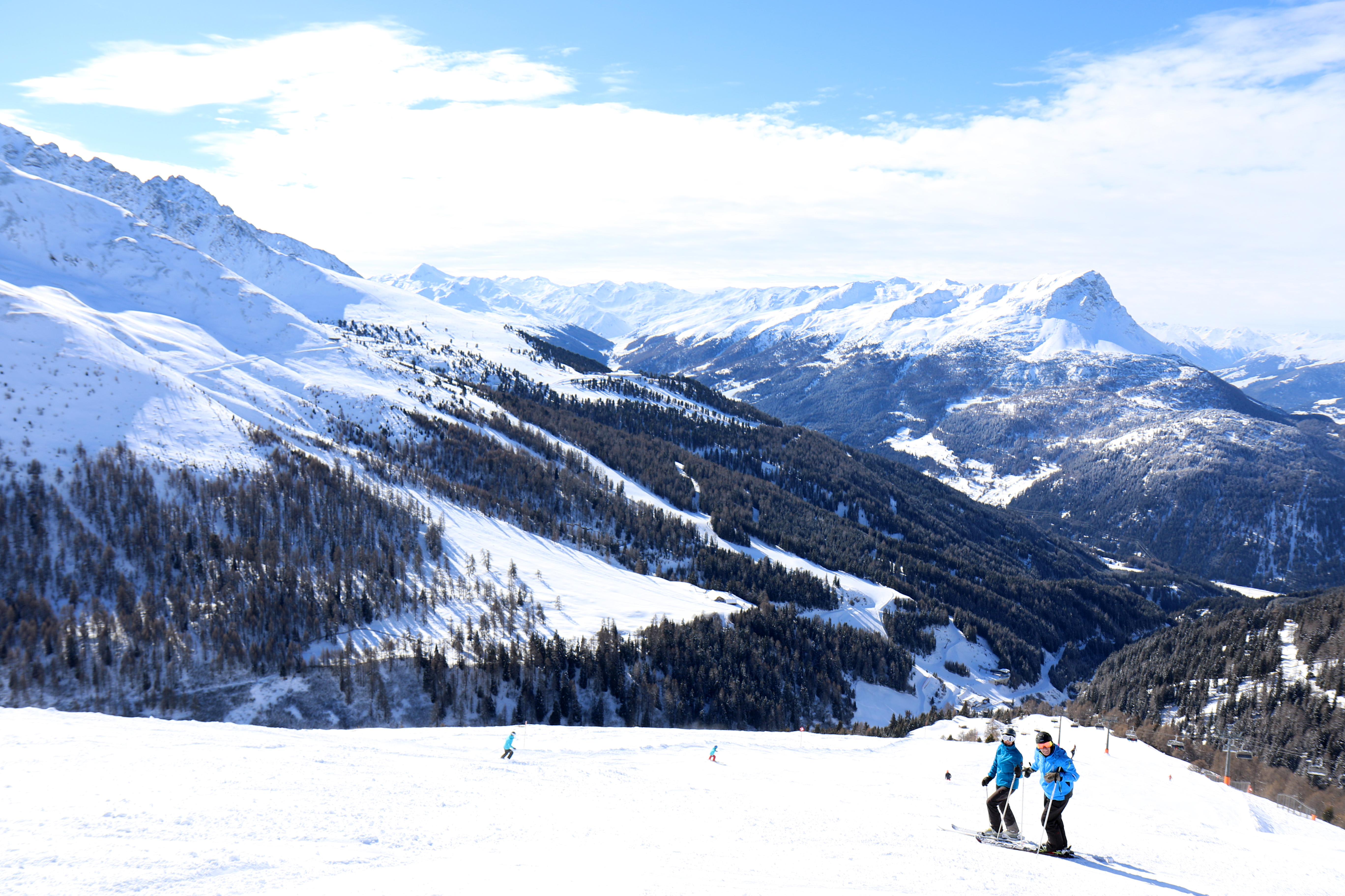 Skifahren in Nauders