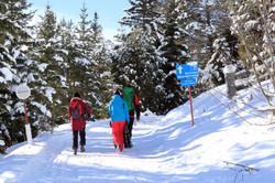 Winterwanderung Richtung Frudiger