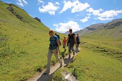 Geführte Wanderung im Berghof