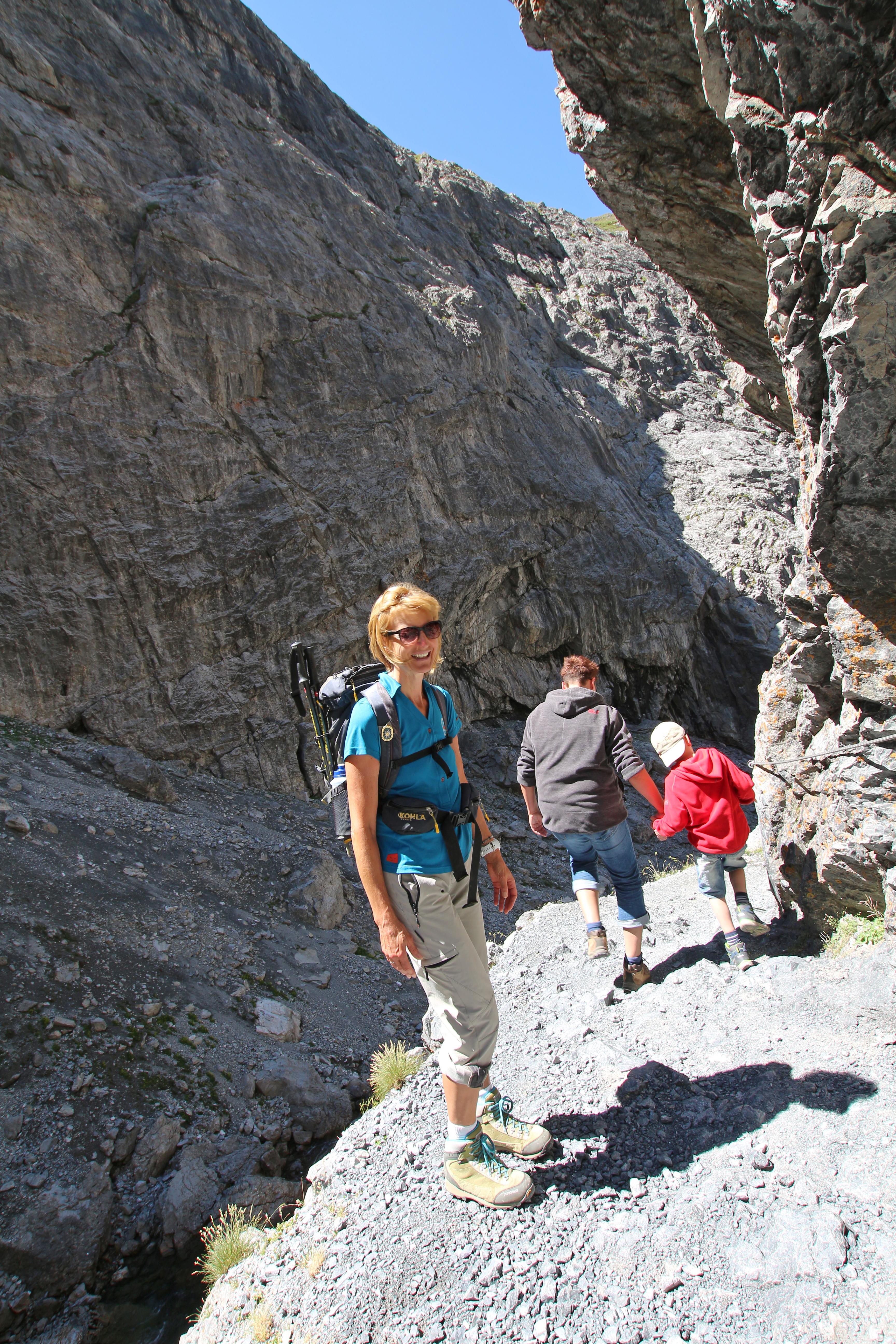 Geführte Wanderung Uina-Schlucht