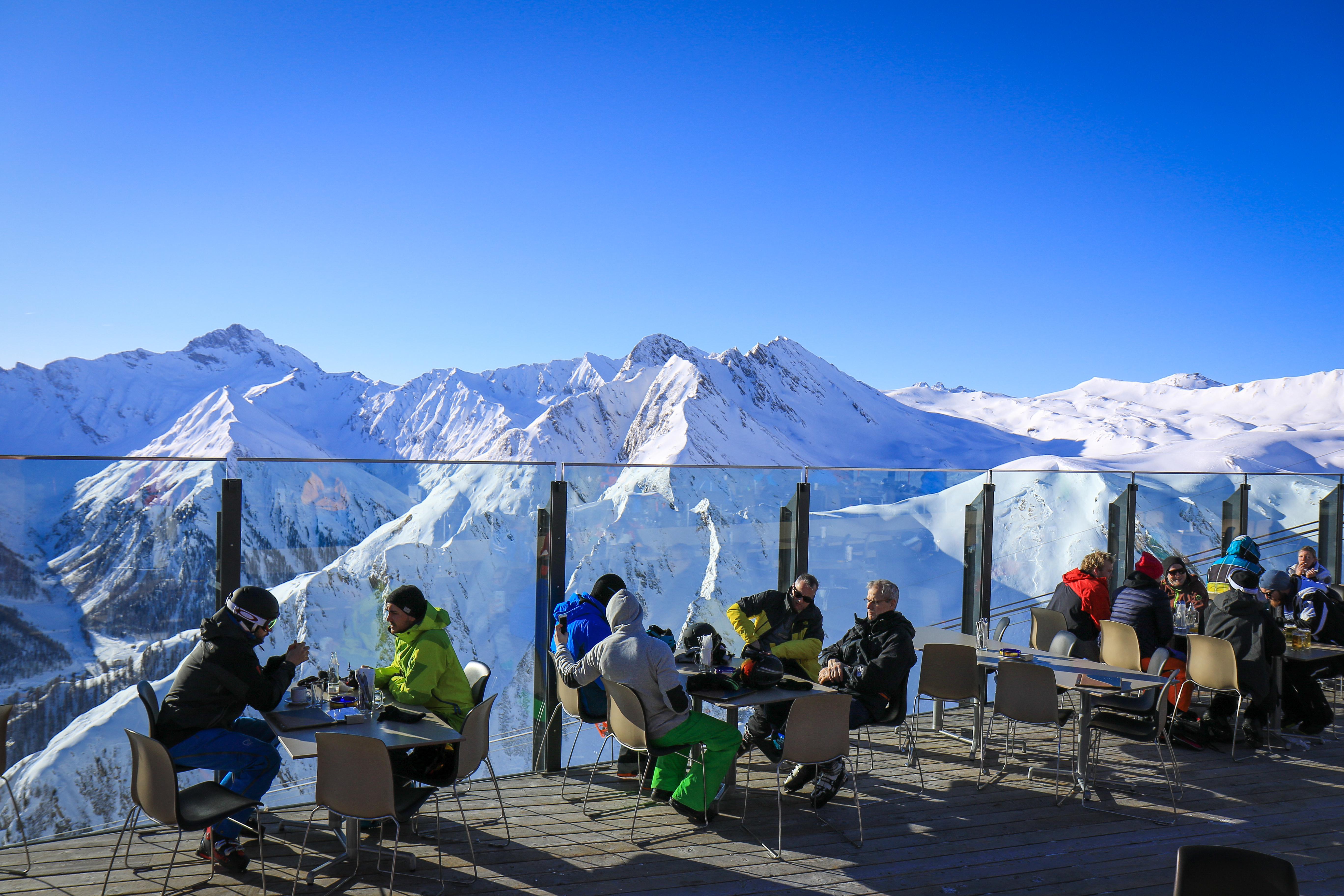 Skifahren Samnaun Ischgl