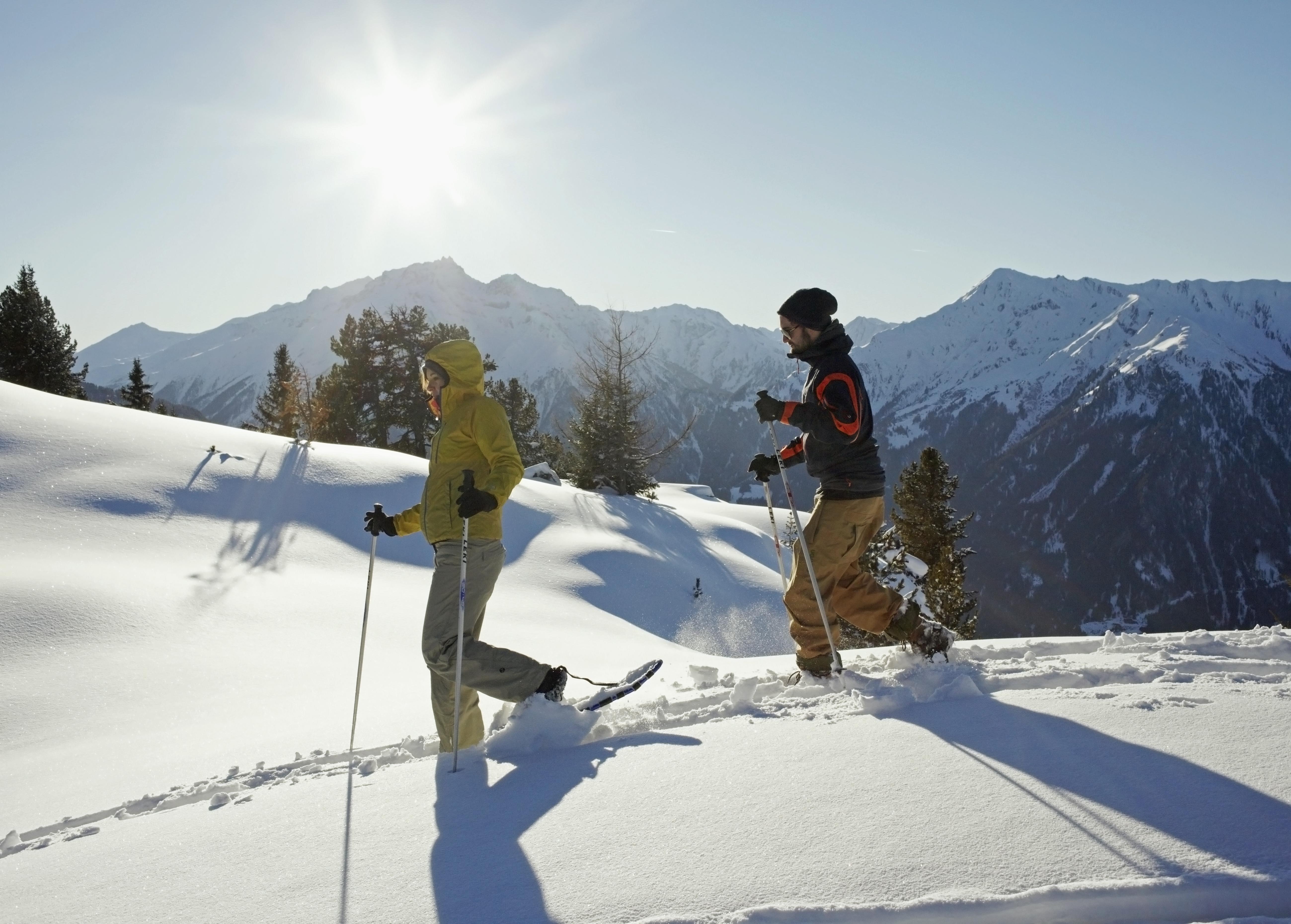 Schneeschuhwandern Frudiger