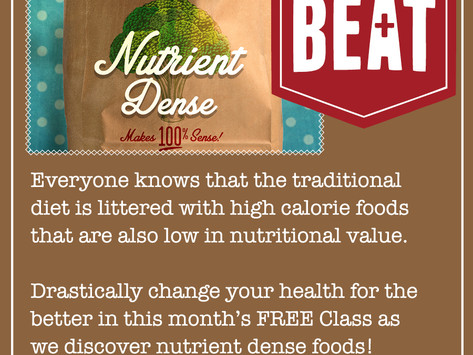 February's FREE The Beat CLASS