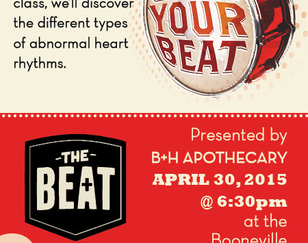 April's FREE The Beat Heart Health Class