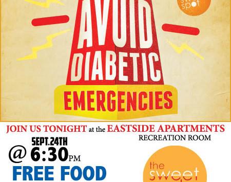 FREE FOOD & DIABETES INFO