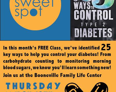 MARCH'S FREE Sweet Spot Class