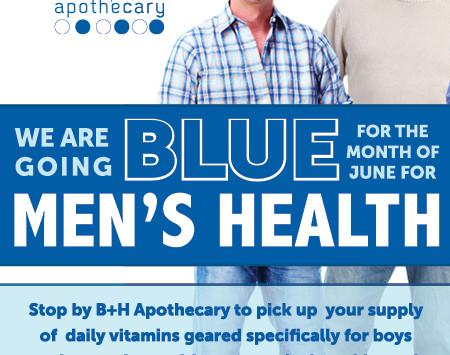 June - Men's Health Month