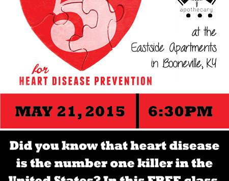 May - Free Heart Health Class