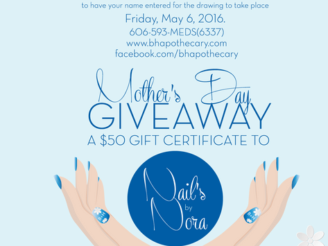 MAY Mother's Day Giveaway!