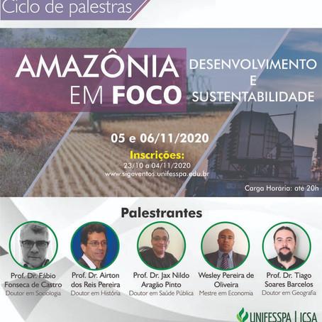 Conferência de abertura com o Prof. Fábio Fonseca de Castro na UNIFESSPA