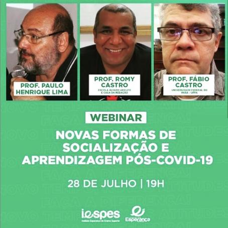 Live: Novas formas de socialização e aprendizagem pós-Covid-19