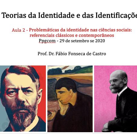 Problemáticas da identidade nas ciências sociais: Referenciais clássicos e contemporâneos