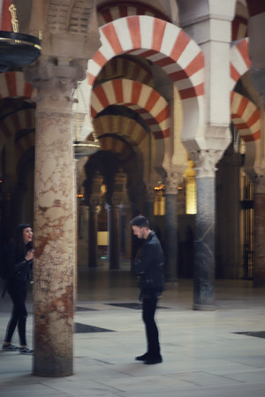 Córdoba, 2017. The Mosque-Cathedral, world heritage site and rich social mixing zone. Taken with Sony DSC-RX100