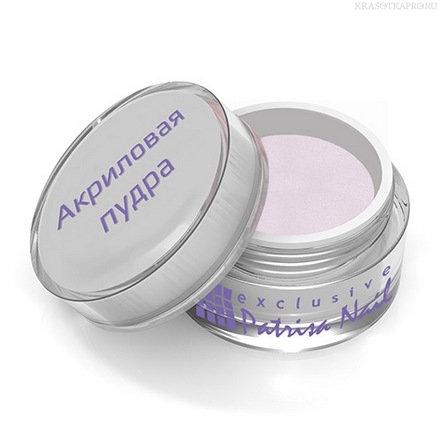 Patrisa nail, Акриловая пудра, 5 гр прозрачная